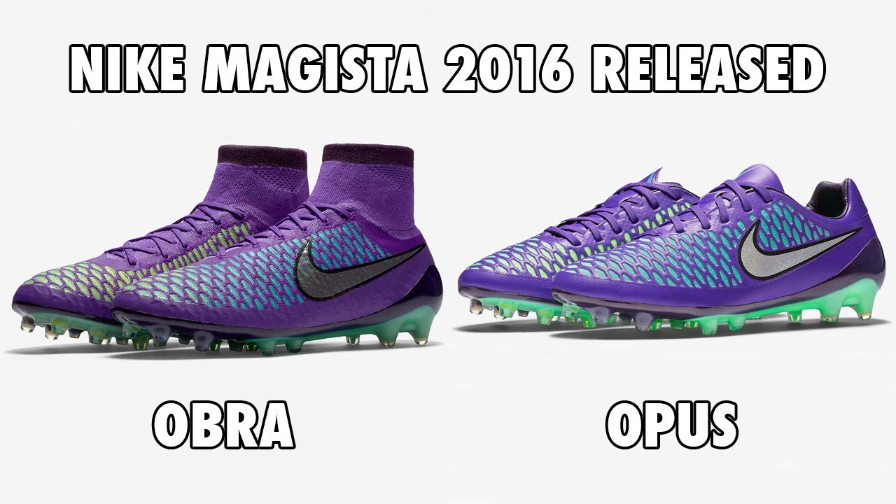 f644fd15a867 Nike Magista Obra   Opus 2016 Released - YouTube
