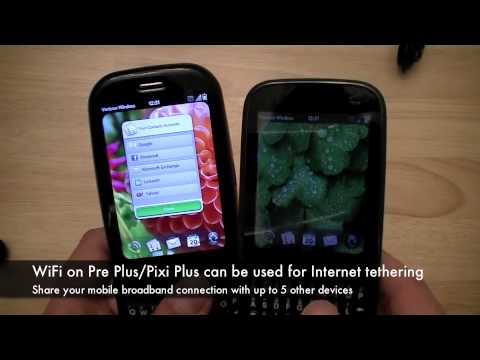 Verizon Wireless Palm Pre Plus & Palm Pixi Plus Hardware Tour & Unboxing