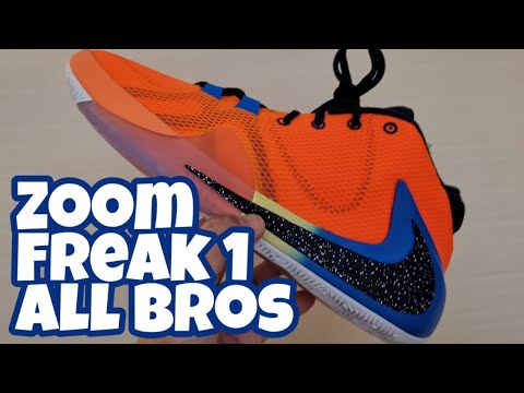 "zoom-freak-1-""all-bro's""-unboxing/review/on-feet"