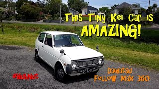 This little two-stroke kei car is AMAZING! 1974 Daihatsu Fellow Max (with bonus George the cat)