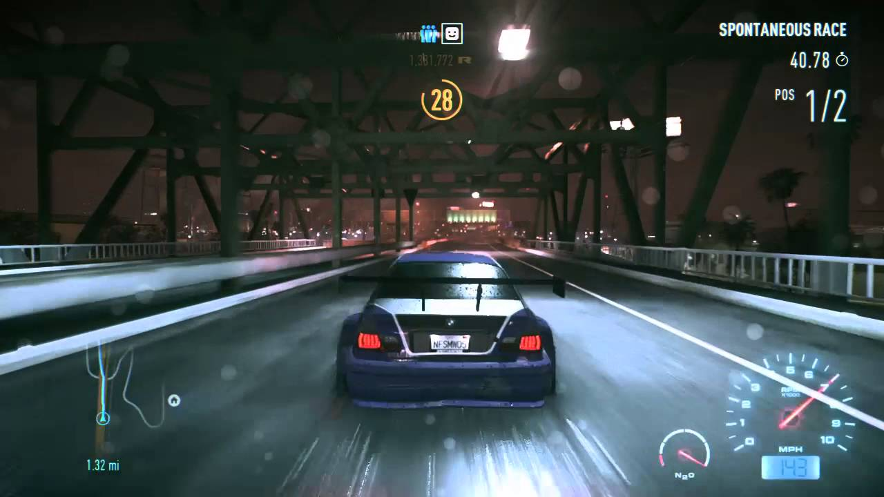 Need for speed bmw m3 gtr 06 v ford mustang gt 15