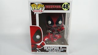 Funko Pop Vinyl Deadpool Deadpool on Scooter Unboxing