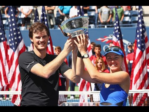 2017 US Open: Jamie Murray And Martina Hingis Championship Press Conference