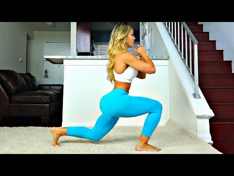 Abs, Butt and Thigh Bodyweight Workout – From Home in 14 Min