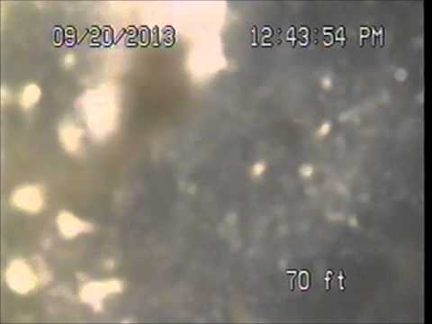 1316  Marine st, Santa Monica #1 sewer video camera inspection