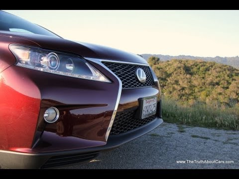 2013-2014 Lexus RX 350 F-Sport Review With Infotainment And Road Test