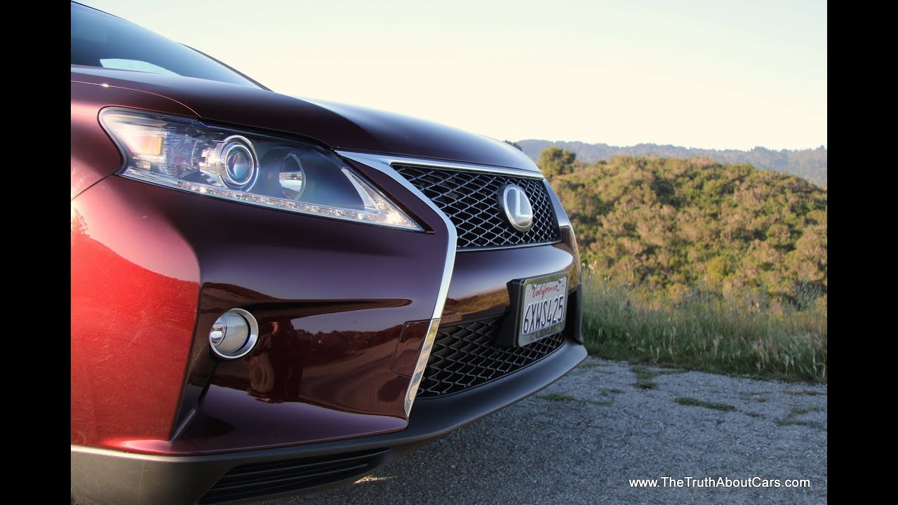 2013 2014 Lexus RX 350 F Sport Review with Infotainment and Road