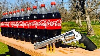 500 S&W MAGNUM VS COKe coca cola