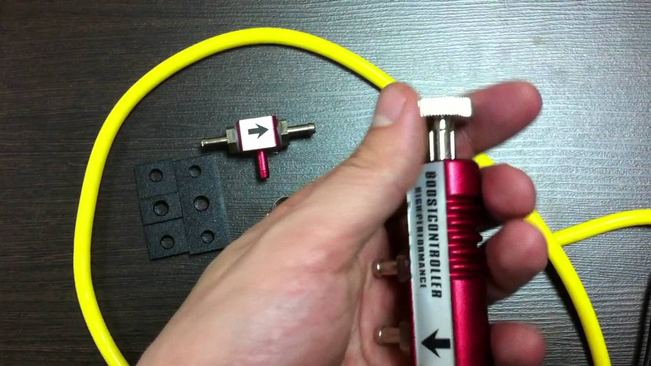 буст контроллер турбосмарт установка схема
