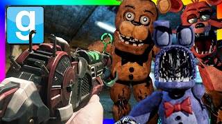 RAYGUN VS ANIMATRONICS | Gmod Roleplay Adventure (Five Nights at Freddy