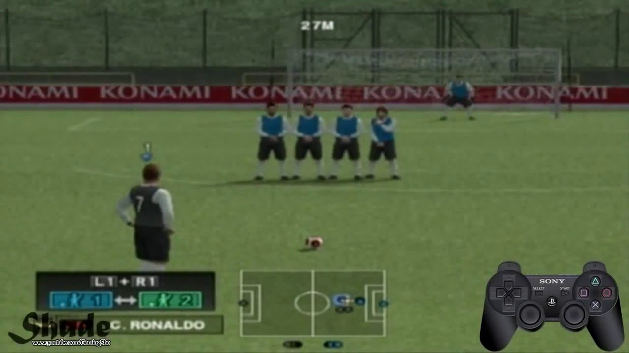 تعلم الى لعبة كرة القدم Ps2