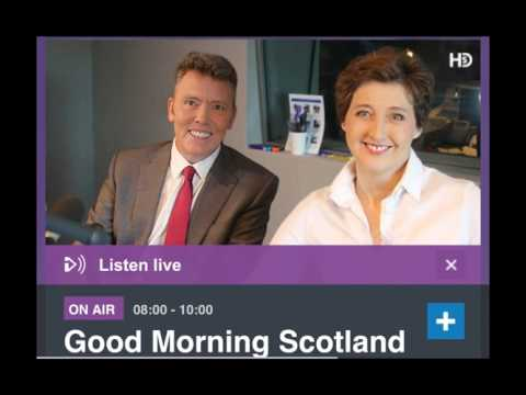Good Morning Scotland Interview on Ransomware Attack (13 May 2017)