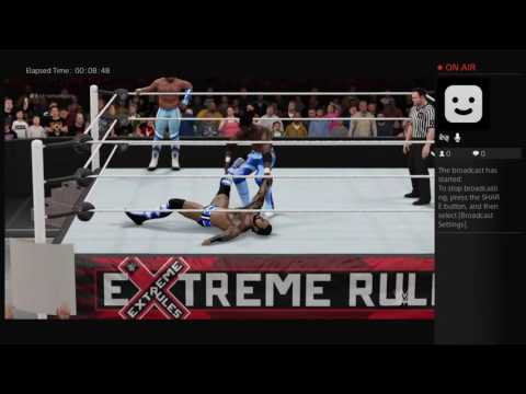 WWE2k16 Extreme Rules PPV