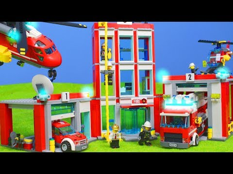 lego feuerwehr. Black Bedroom Furniture Sets. Home Design Ideas