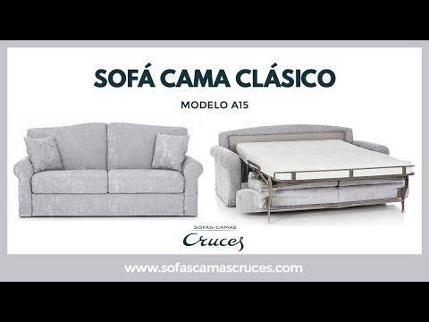 Mueble cama abatible con cama de matrimonio y sof chai for Sofa cama de matrimonio