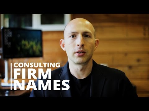 Consulting Firm Names: How to Choose the Best One