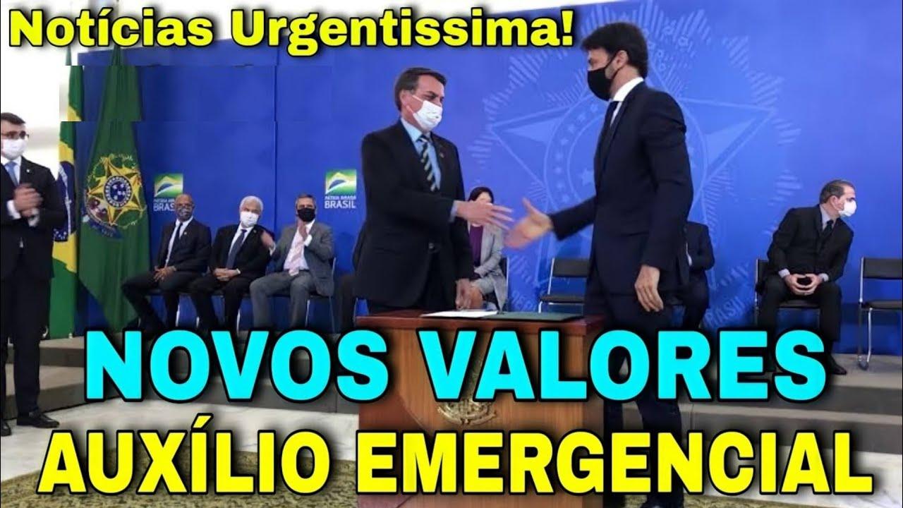 Download Notícia Urgentissima! Novos Valores da Prorrogacão do auxílio Emergencial/ Notícia Bombástica...