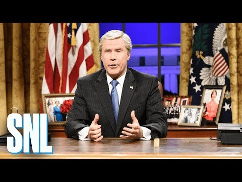 George W. Bush Returns Cold Open  SNL