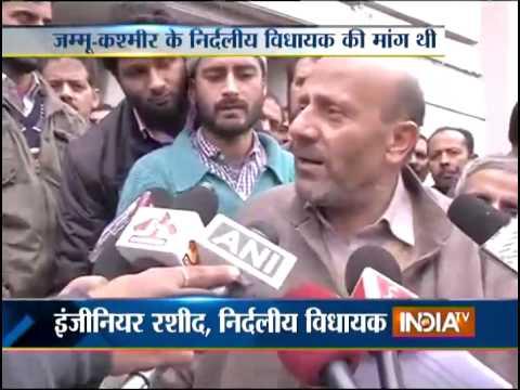 PDP Leader Naeem Akhtar Note on Afzal Guru - India TV