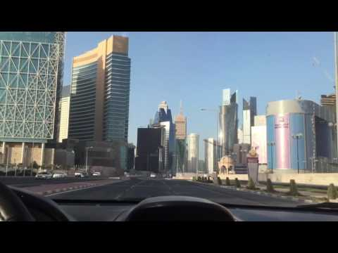 Streets in Doha Qatar 2017