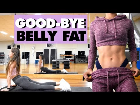 10 HOME EXERCISES To Lose BELLY FAT In A Month | No Equipment Workout