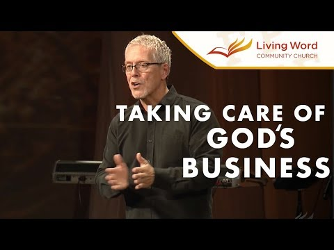 Stewardship: Taking Care of God's Business