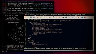 Samsung Browser SOP bypass MSF module working Client Side thumbnail