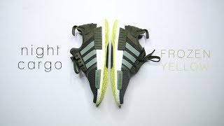 Adidas NMD R1 NIGHT CARGO SEMI FROZEN YELLOW // Best Budget NMD for 2018