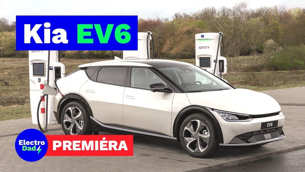 Kia EV6 – shrnutí premiéry špičkového crossover elektromobilu | Electro Dad # 224