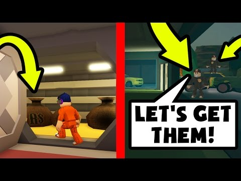 ROBBING A BANK IN JAILBREAK! *COPS CALLED* | Roblox (Prison Life 3.0)