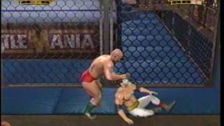 WWE Legends of Wrestlemania Single Player Match 2