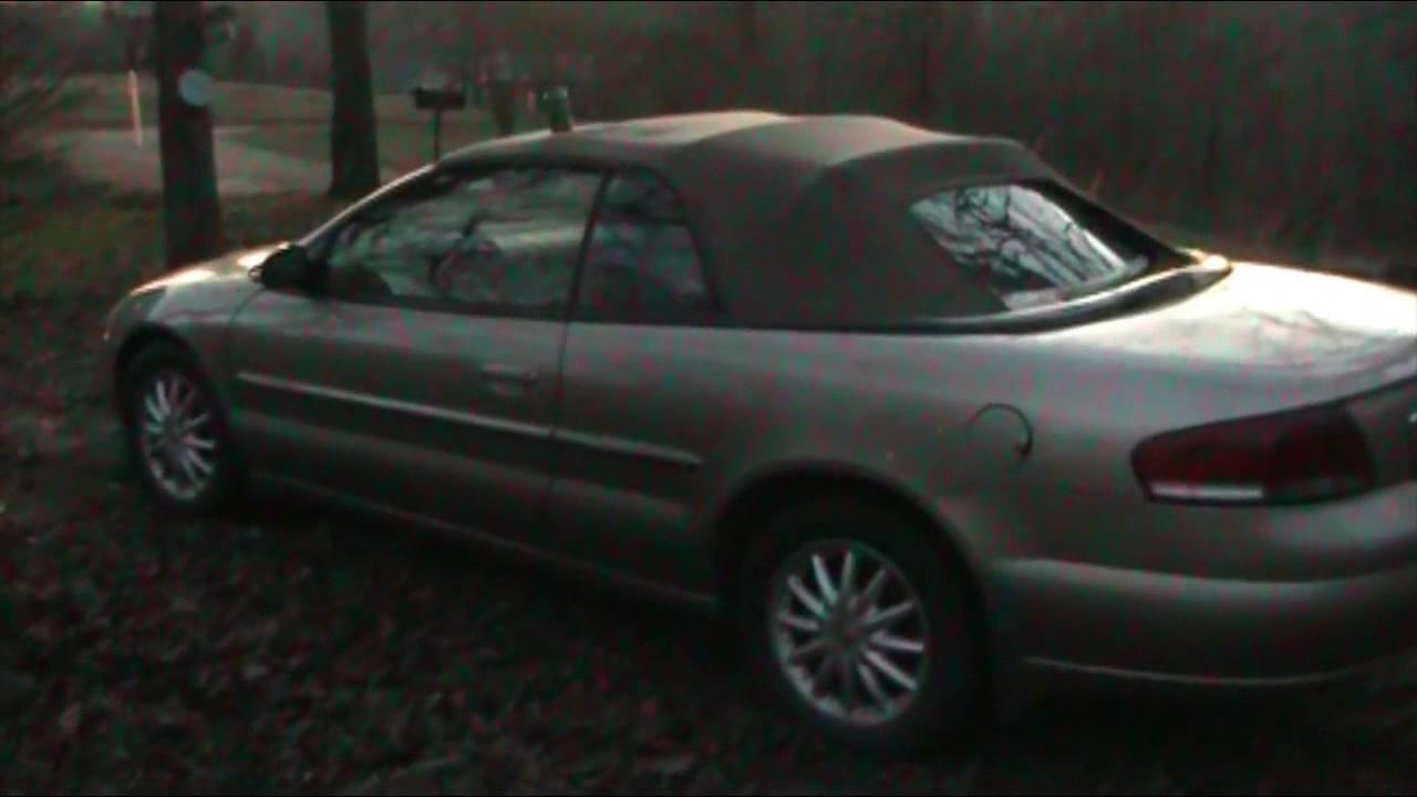2001 2006 Chrysler 02 Sebring Convertable Battery Location