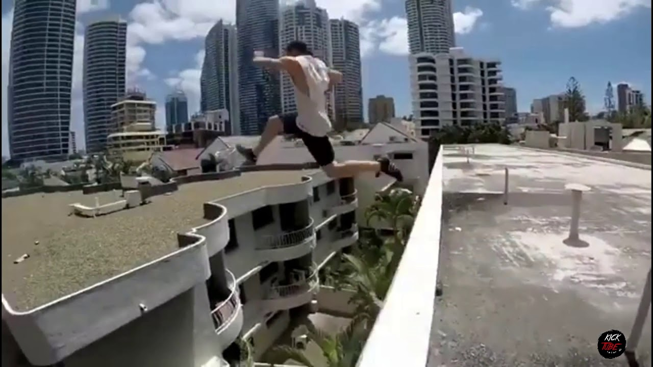 top 20 insane parkour jumps on high building 2018 youtube