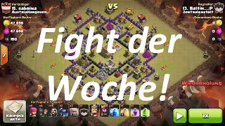 Fight der Woche #1 - Clash of Clans | little mc t