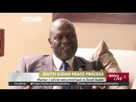 Riek Machar still wants to be involved in South Sudan political process