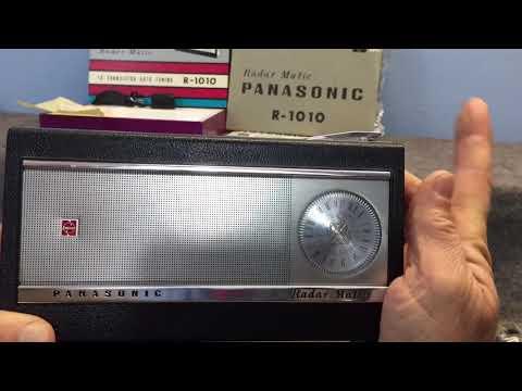 Panasonic Radar Matic R-1010 Transistor Radio Auto Tune