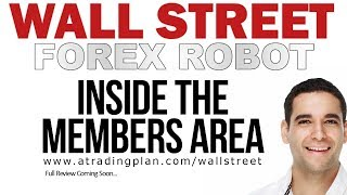 WALL STREET FOREX ROBOT :: REAL Members Area Review