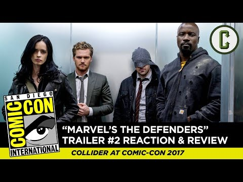 Marvel's The Defenders Trailer #2 Reaction and Review (Comic Con)