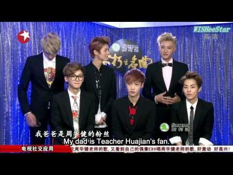 [1080P][Eng Sub]140315 Immortal Song Chinese Ver. EXO-M Cut
