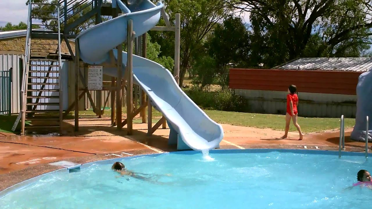 YouTube Water Park Slides