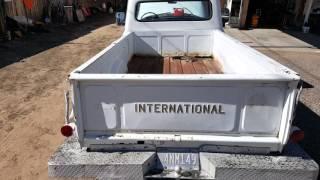1962 International Harvester c110 long bed pickup truck