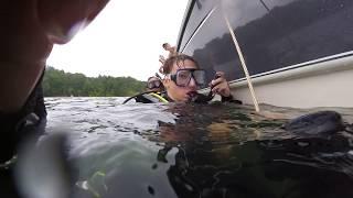 Lake Hartwell dive