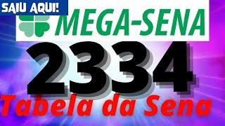 Mega Sena 2334
