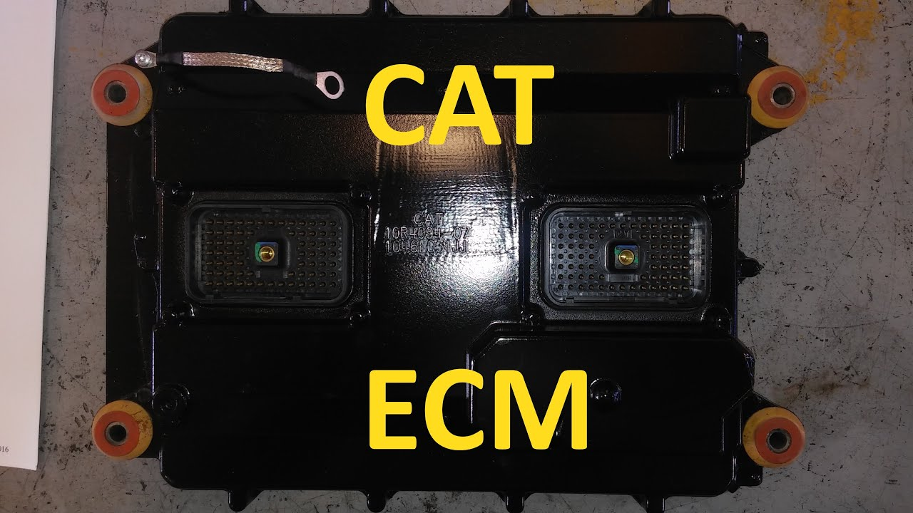 How To Troubleshoot And Program A Cat Ecm Youtube Telehandler Wiring Diagrams