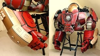 XRobots - Iron Man Hulkbuster Cosplay Part 37, Hand & Forearm Panels