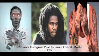 2016 DANCEHALL - WHAT DID CHRONIXX MEAN WHEN HE CALLED VYBZ KARTEL A CANNIBAL 2