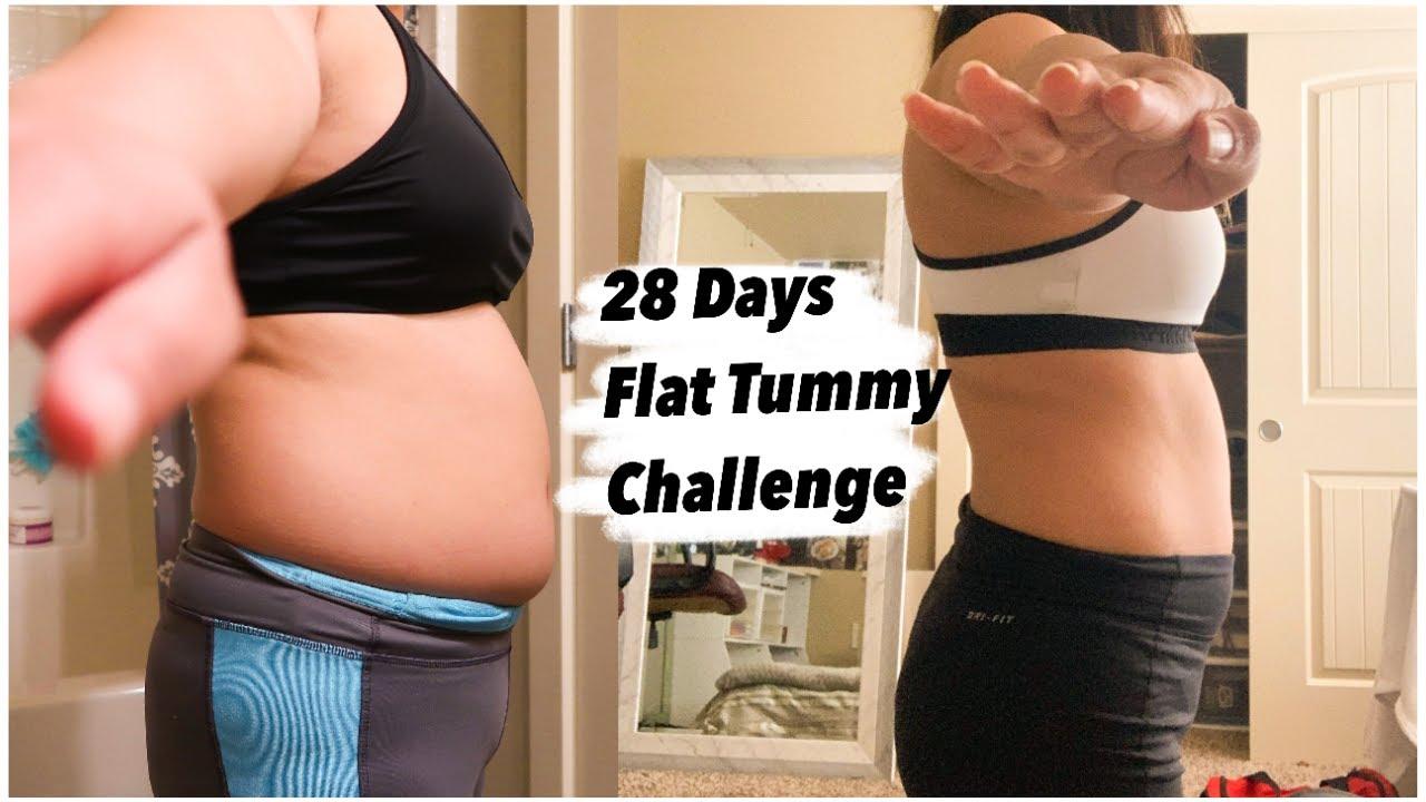 Chloe Ting 28 Days Flat Tummy Challenge Results - YouTube