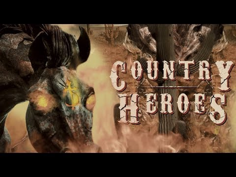 Country Heroes feat. Hank III (Lyric Video)