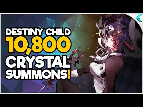 DESTINY CHILD | 10,800 CRYSTAL SUMMONS!! Give Me Those Sweet Five Stars!