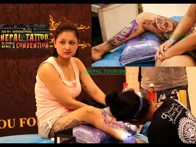 9th International Nepal Tattoo Convention 2019